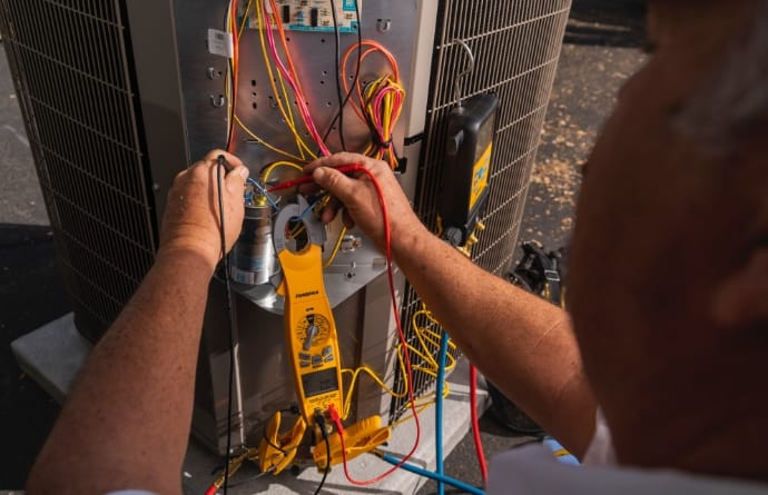 Commercial AC Unit Installation